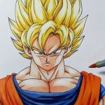 Color Dragon Ball Z Best How to Draw Goku Super Saiyan Step by Step Tutorial