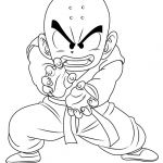 Color Dragon Ball Z Inspiration Learn How to Draw Krillin From Dragon Ball Z Dragon Ball Z Step by