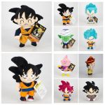 Color Dragon Ball Z Inspiring 2019 12 Styles 16 20cm Dragon Ball Z Plush toys Cartoon Kuririn