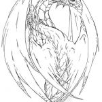 Color Pages Dragon Wonderful Yin Yang Dragon Tattoo Lines by Fachhillisviantart On