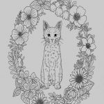Coloring Animals for Adults Exclusive 47 New Adult Coloring Animals