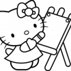 Coloring Book Hello Kitty Marvelous Big Hello Kitty Coloring Home