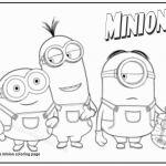 Coloring Book Minion Inspired Minion Clipart Black and White Best Minions Christmas Coloring