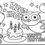 Coloring Book Minion Wonderful Happy Birthday Coloring Pages for Kids