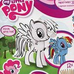 Coloring Book My Little Pony Beautiful My Little Pony Starpak 3d Creative Drawing Set Cardboard with