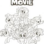 Coloring Book My Little Pony Brilliant Page 51 Abbykerrink