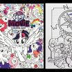 Coloring Book My Little Pony Exclusive My Little Pony the Movie Coloring Book Pinkie Pie and Rarity