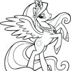 Coloring Book My Little Pony Inspired My Little Pony Princess Cadence Coloring Page – Littapes