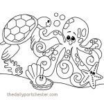 Coloring Book Sea Animals Creative Sea Animals Coloring Pages Awesome Beautiful Printable Ocean Animals