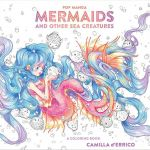 Coloring Book Sea Animals Excellent Pop Manga Mermaids and Other Sea Creatures Coloring Book