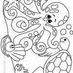 Coloring Book Sea Animals Wonderful Sea Animals Coloring Pages Awesome Beautiful Printable Ocean Animals