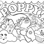 Coloring Book Trolls Amazing Poppy Coloring Pages