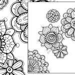 Coloring Books for Adults Pdf Inspiring Henna Flower Adult Coloring Sheet Instant Coloring Pdf