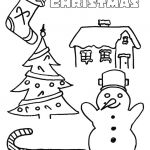 Coloring Christmas Tree Best Tree Coloring Pages Frozen Christmas Timer Model Free Colouring