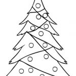 Coloring Christmas Tree Exclusive White Pine Tree Coloring Page Elegant Xmas Tree Wallpaper by S 0d