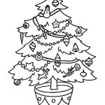 Coloring Christmas Tree Inspired White Pine Tree Coloring Page Elegant Xmas Tree Wallpaper by S 0d