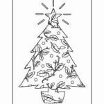 Coloring Christmas Trees Exclusive Awesome Christmas Tree and Santa Coloring Pages – Nicho