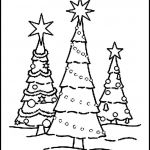 Coloring Christmas Trees Inspired Best Easy Christmas Tree Coloring Pages – Lovespells