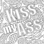 Coloring Cuss Words Creative Word Coloring Pages New Free Adult Coloring Pages Swear Words Aol