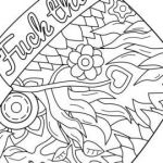 Coloring Cuss Words Exclusive 42 Free Printable Feather Coloring Pages — String town Blog