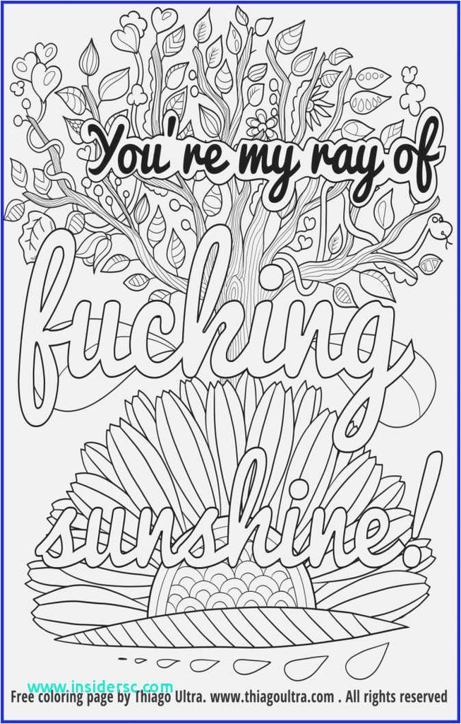 Coloring Cuss Words Exclusive New Curse Word Coloring Page 2019