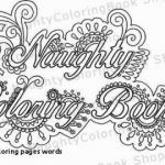 Coloring Cuss Words Inspirational 25 Awesome Free Curse Word Coloring Pages