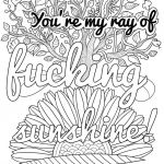 Coloring Cuss Words Inspired Coloring Page Inspirational Wording Pages Page astonishing Swear