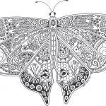 Coloring Online Adults Free Awesome Unique Free Printable butterfly Coloring Pages for Adults