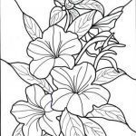 Coloring Online Adults Free Brilliant Flower Bouquets Coloring Pages Vases Flower Vase Coloring Page Pages