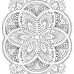 Coloring Online for Adults Brilliant Coloring Pages Flower Mandala Cool Vases Flower Vase Coloring Page