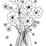Coloring Online for Adults Inspiration Printable Vases Flower Vase Coloring Page Pages Flowers In A top I