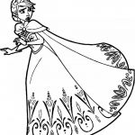 Coloring Page Frozen Pretty Lovely Frozen Elsa Coloring Page 2019