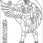 Coloring Pages 101 Beautiful Elegant Avengers Falcon Coloring Pages Nocn