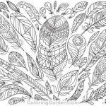 Coloring Pages Adult Free Creative Adult Color Page
