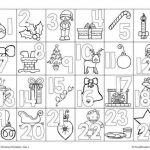Coloring Pages Calendar Amazing Free Advent Coloring Pages
