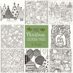 Coloring Pages Christmas ornaments Printable Amazing Yule Coloring Pages