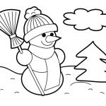 Coloring Pages Christmas ornaments Printable Best Unique Christmas Tree Free Coloring Page 2019
