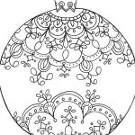 Coloring Pages Christmas ornaments Printable Pretty Luxury Christmas Ball ornament Coloring Pages – Nicho