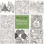 Coloring Pages for Adults Christmas Inspiring 40 Fresh Adult Coloring Sheets