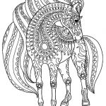 Coloring Pages for Adults Difficult Creative Coloring Animal Coloring Pages for Adults Horse Simple Zentangle