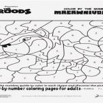 Coloring Pages for Adults Difficult Exclusive New Color by Number Coloring Pages – Lovespells