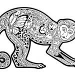 Coloring Pages for Adults Difficult Marvelous Free Coloring Page Coloring Difficult Monkey A Coloring Page with A