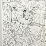 Coloring Pages for Adults Inspired Free Elephant Coloring Pages Best Elephant Adult Coloring Pages