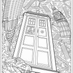 Coloring Pages for Adults Online Free Exclusive Coloring Pages to Color Line for Free New Tardis Coloring Page