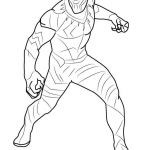 Coloring Pages for Adults Pdf Creative Civil War Captain America Coloring Pages Beautiful Black Panther