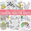 Coloring Pages for Adults Printable Free Inspired Free Pages Sansu Rabionetassociats