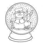 Coloring Pages for Christmas Brilliant New Christmas Globe Coloring Pages – Tintuc247