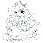 Coloring Pages for Girls Inspired Elegant Cool Anime Girl Coloring Pages – Howtobeaweso