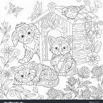 Coloring Pages for Halloween to Print Best Of Fresh Cute Cat Coloring Pages