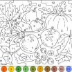 Coloring Pages for Teenagers Difficult Color by Number New Nicole S Free Coloring Pages Color by Number Autumn Colors